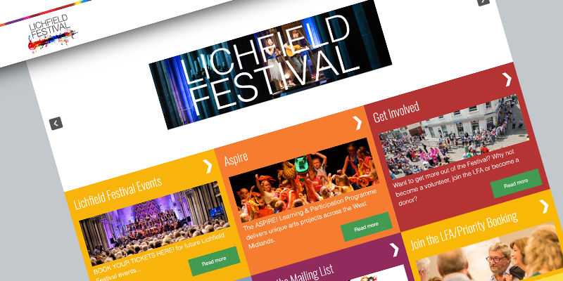15% increase in bookings for Lichfield Festival