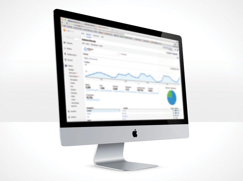 Google Analytics Dashboard image
